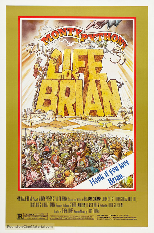 Life Of Brian - Theatrical poster