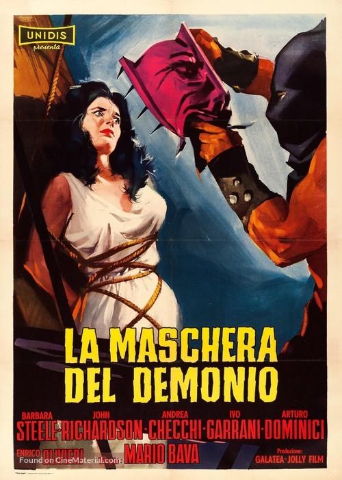La maschera del demonio - Italian Movie Poster