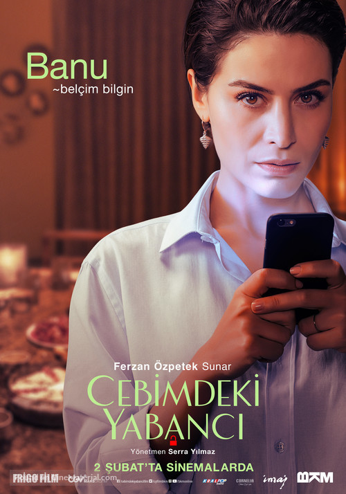 Cebimdeki Yabanci - Turkish Movie Poster
