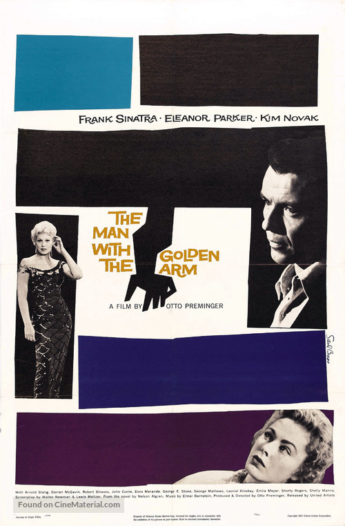 The Man with the Golden Arm - Movie Poster