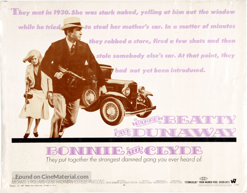Bonnie and Clyde - Movie Poster