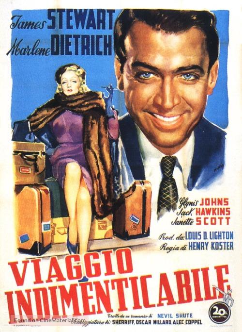 No Highway - Italian Movie Poster
