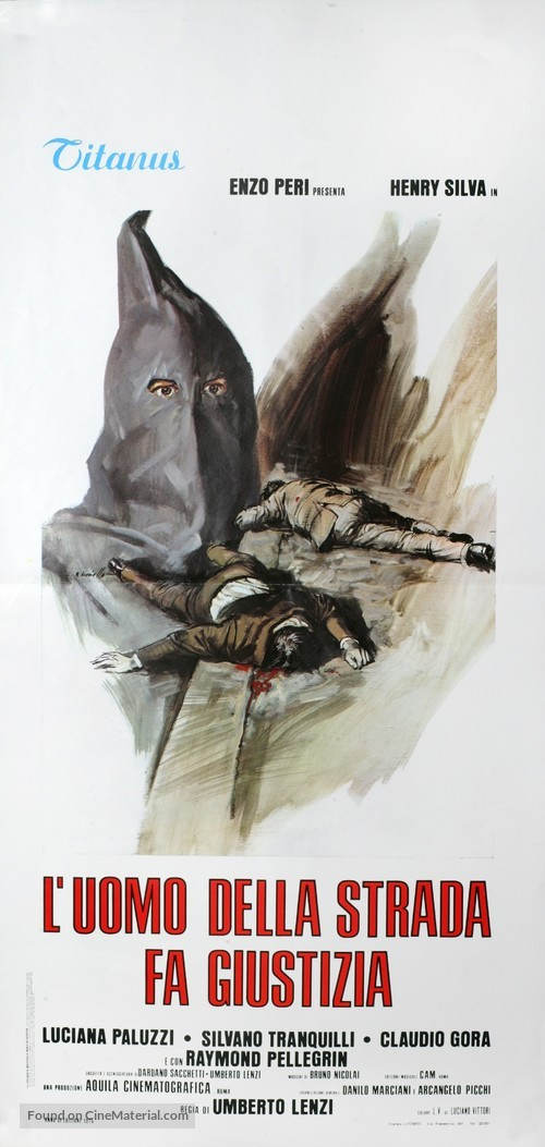 L'uomo della strada fa giustizia - Italian Movie Poster