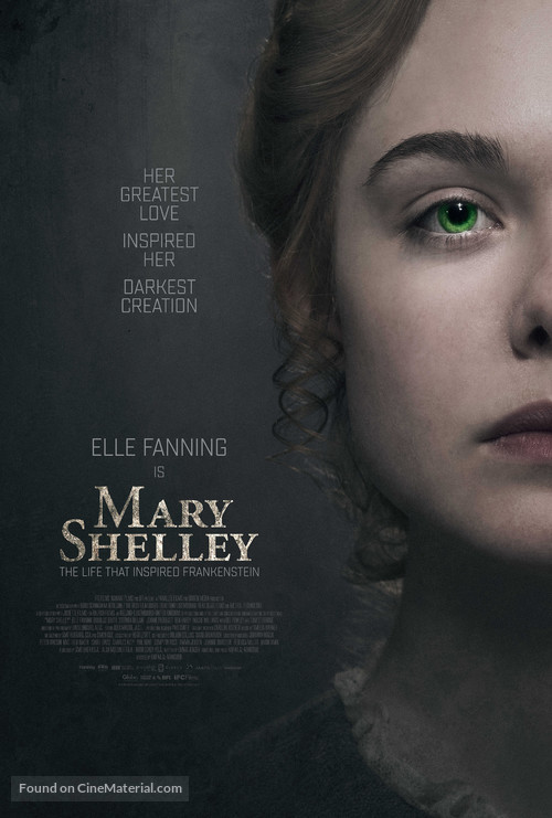 Mary Shelley - Movie Poster