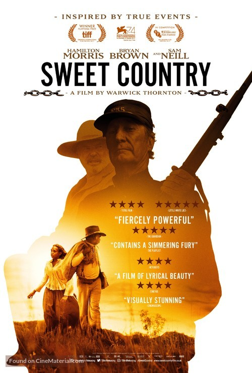 Sweet Country - British Movie Poster