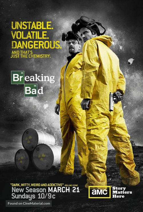 """Breaking Bad"" - Movie Poster"