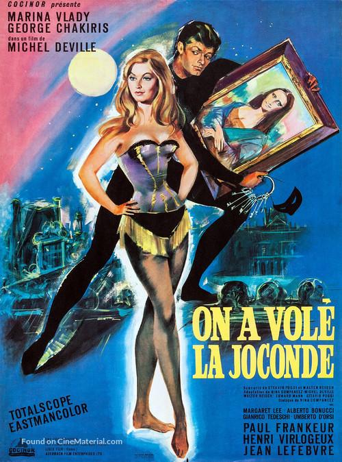 Ladro della Gioconda, Il - French Movie Poster