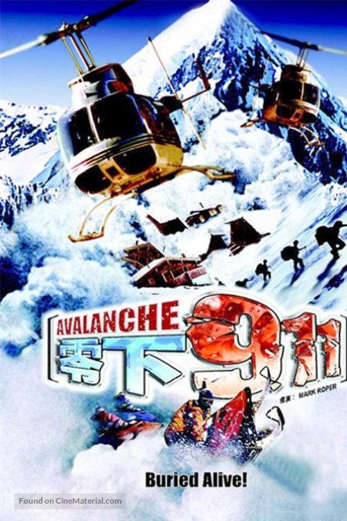 Avalanche - Chinese Movie Cover