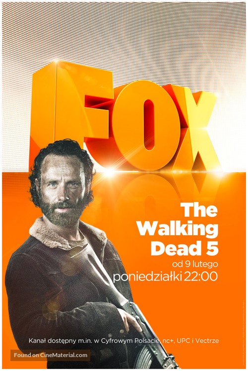 """""""The Walking Dead"""" - Portuguese Movie Poster"""