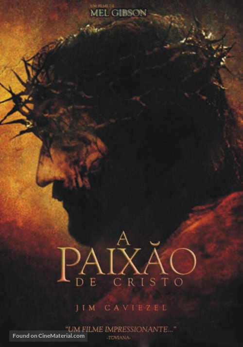 The Passion of the Christ - Brazilian Movie Poster