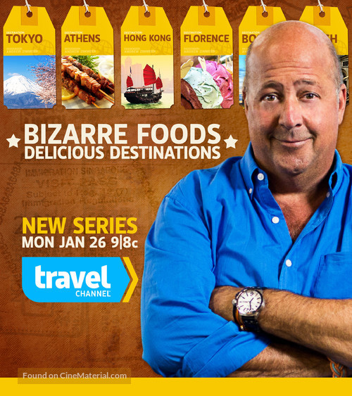 """""""Bizarre Foods with Andrew Zimmern"""" - Movie Poster"""