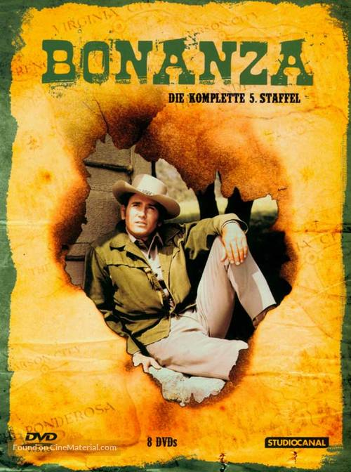 """Bonanza"" - German DVD cover"