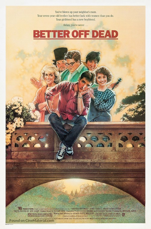Better Off Dead... - Movie Poster