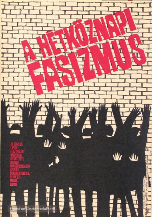 Obyknovennyy fashizm - Hungarian Movie Poster