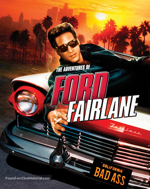 The Adventures of Ford Fairlane - Blu-Ray movie cover