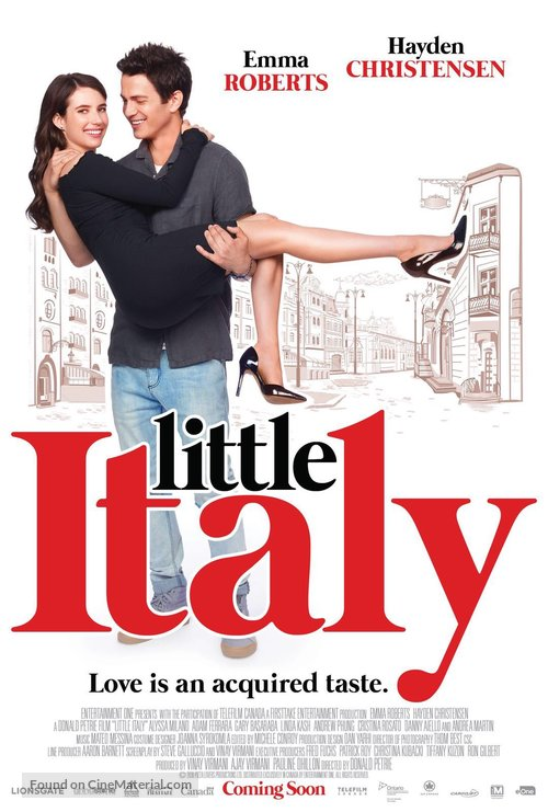 Little Italy - Movie Poster