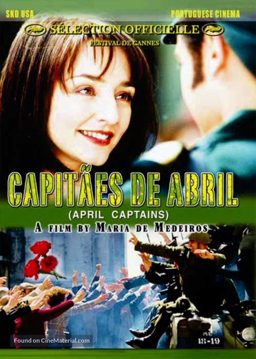 Capitães de Abril - DVD cover