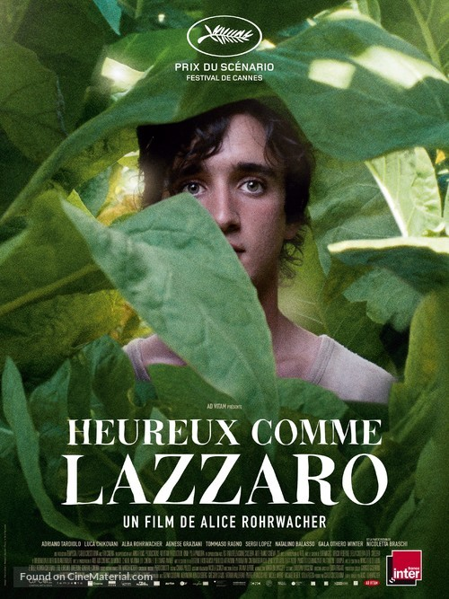 Lazzaro felice - French Movie Poster