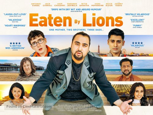Eaten by Lions - British Movie Poster