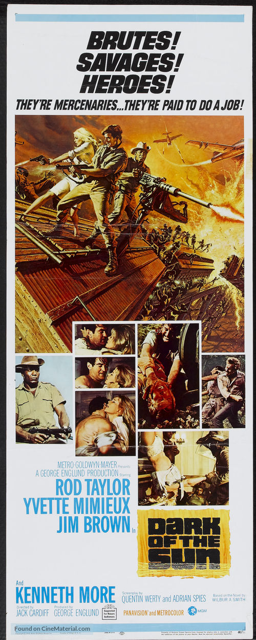 The Mercenaries - Movie Poster