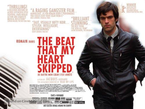 De battre mon coeur s'est arrêté - British Movie Poster