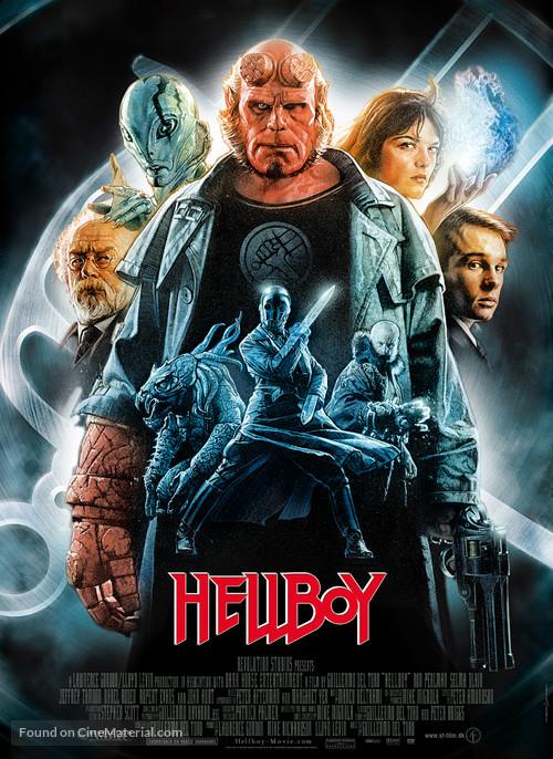 Hellboy - Danish Movie Poster