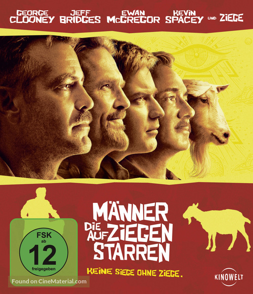 The Men Who Stare at Goats - German Movie Cover
