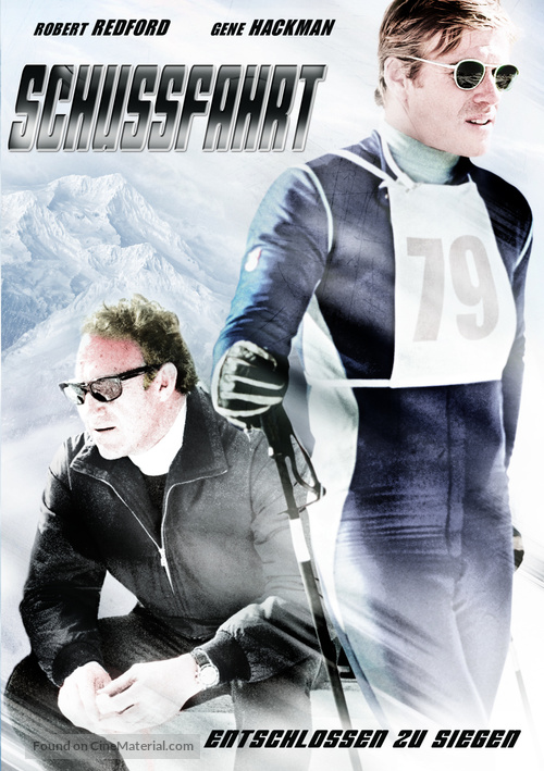 Downhill Racer - German DVD cover