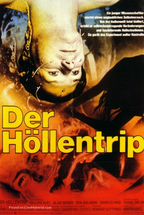 Altered States - German Movie Poster