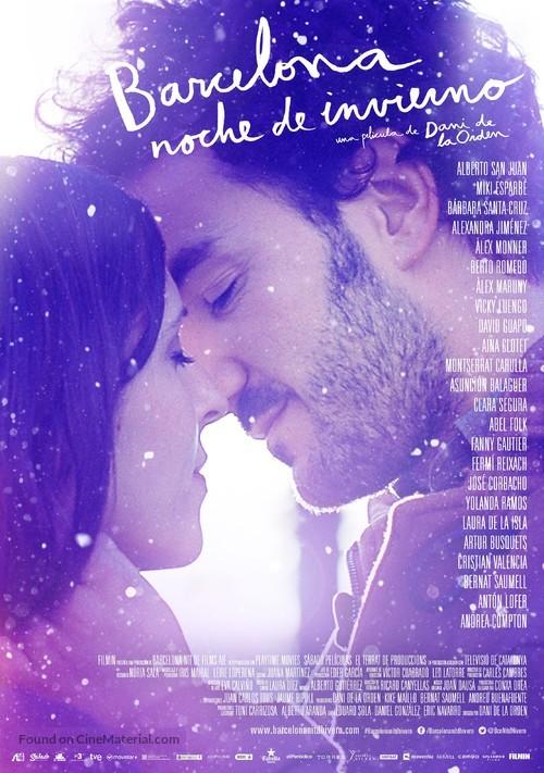 Barcelona Nit D Hivern Spanish Movie Poster