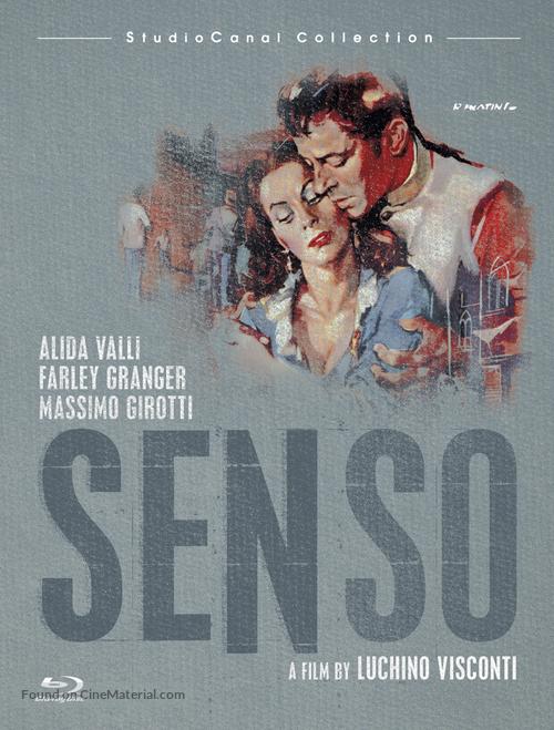 Senso - Blu-Ray cover