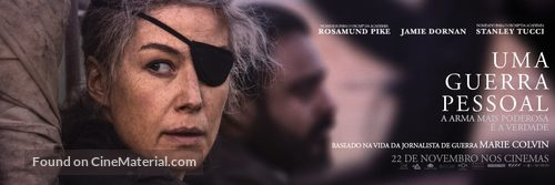 A Private War - Portuguese Movie Poster
