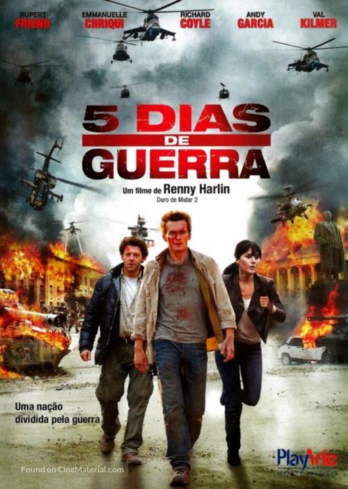 5 Days of War - Brazilian DVD movie cover