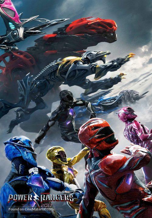 Power Rangers - Venezuelan Movie Poster