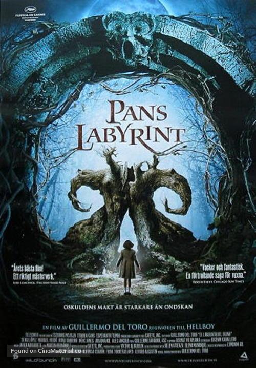 El laberinto del fauno - Swedish Movie Poster