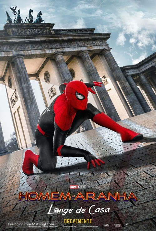 Spider-Man: Far From Home - Portuguese Movie Poster