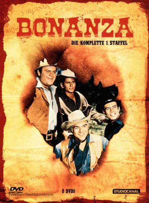"""Bonanza"" - German DVD cover"