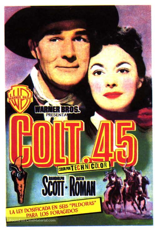 Colt .45 - Spanish Movie Poster
