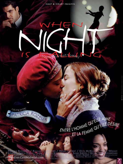 When Night Is Falling - French Movie Poster