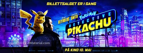 Pokémon: Detective Pikachu - Norwegian poster