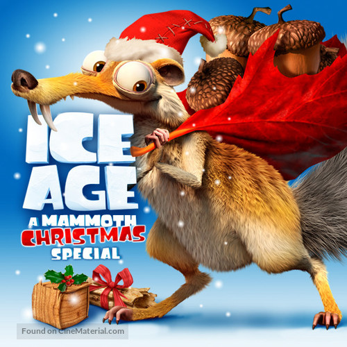 Ice Age: A Mammoth Christmas - Movie Poster