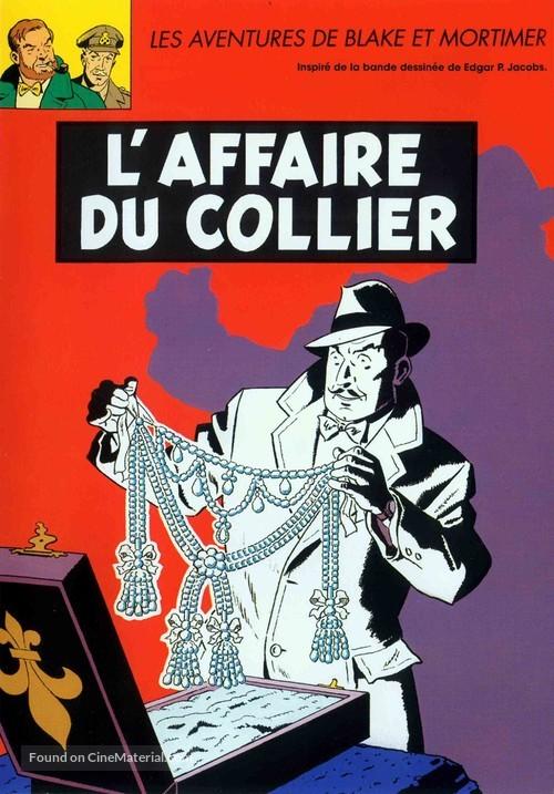 """""""Blake et Mortimer"""" - French Movie Cover"""