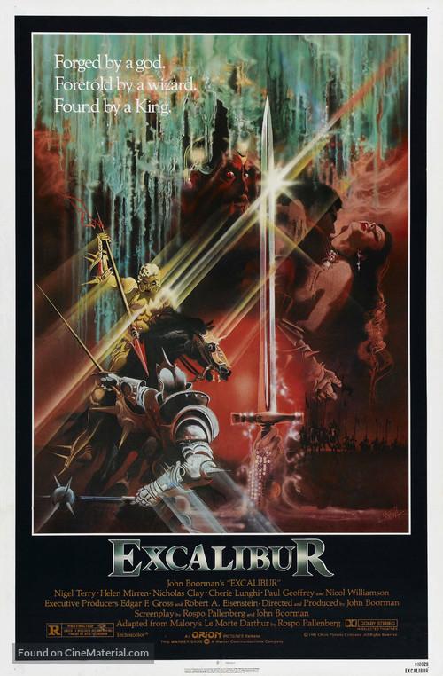 Excalibur - Movie Poster
