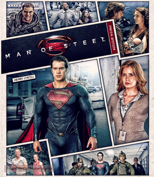 Man of Steel - Movie Cover
