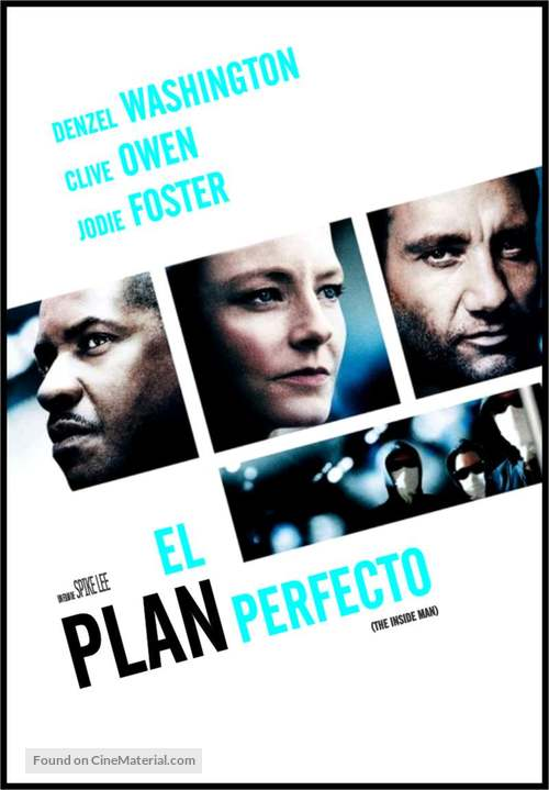 Inside Man - Argentinian Movie Poster
