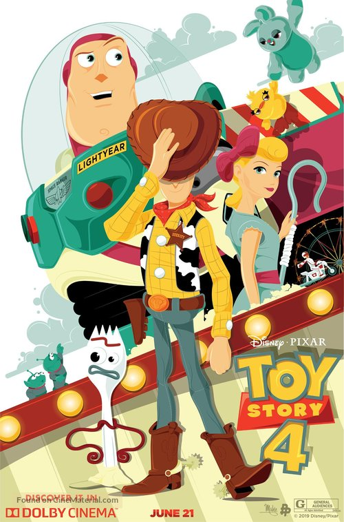 Toy Story 4 - Movie Poster