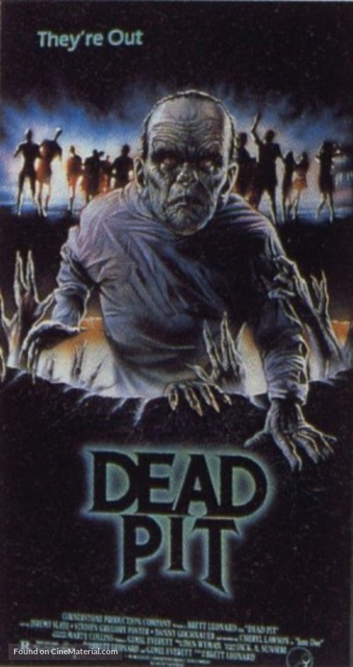 The Dead Pit - VHS cover