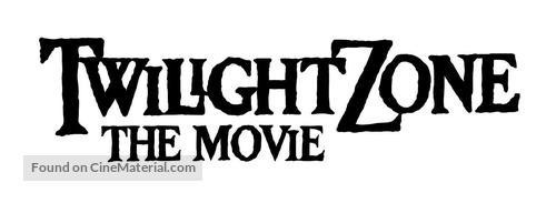 Twilight Zone: The Movie - Logo