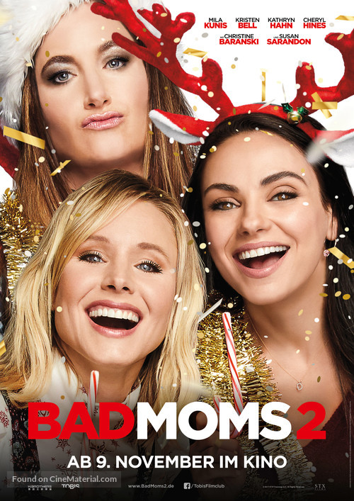 A Bad Moms Christmas 2017.A Bad Moms Christmas 2017 German Movie Poster