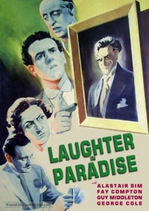 Laughter in Paradise - British Movie Poster